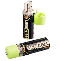 usb cell aa rechargable battery